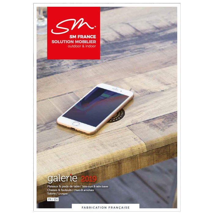 SM France molded laminated table tops
