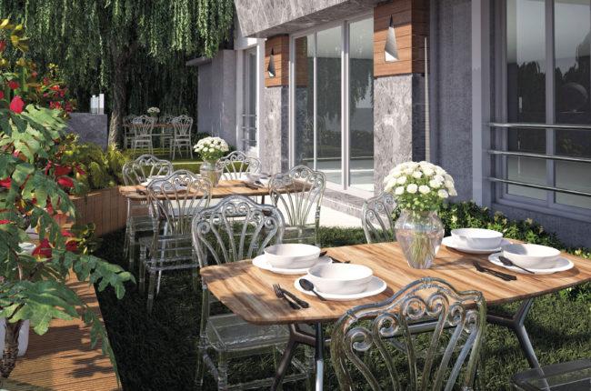 Catering, Flora sedia