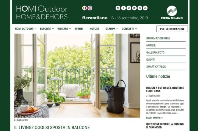 Intervista HOMI Outdoor 2019